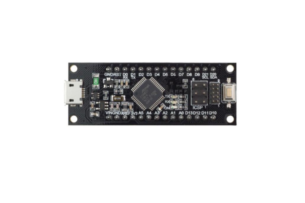 SAMD21 M0-Mini. 32-bit ARM Cortex M0 core 1
