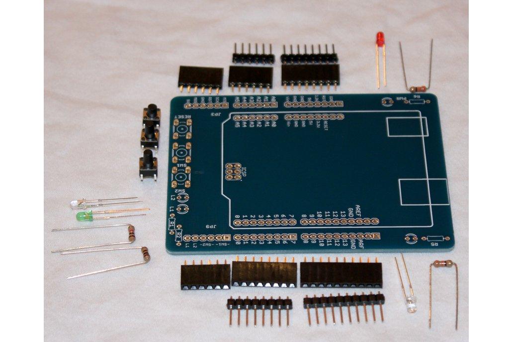 Arduino Breadboard Shield 400 1