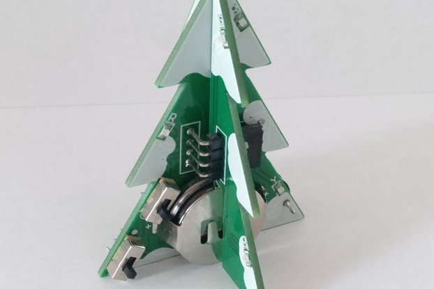 Musical LED Christmas Tree KIT