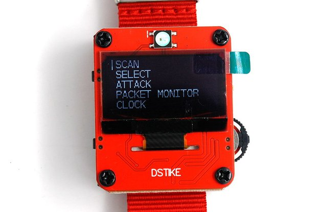 DSTIKE Deauther Wristband RED