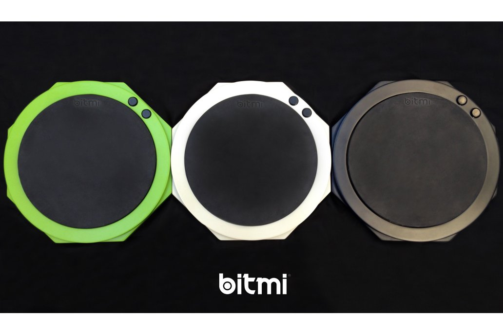 Bitmi - Boutique MIDI Drum Pad With Deluxe Bag 1