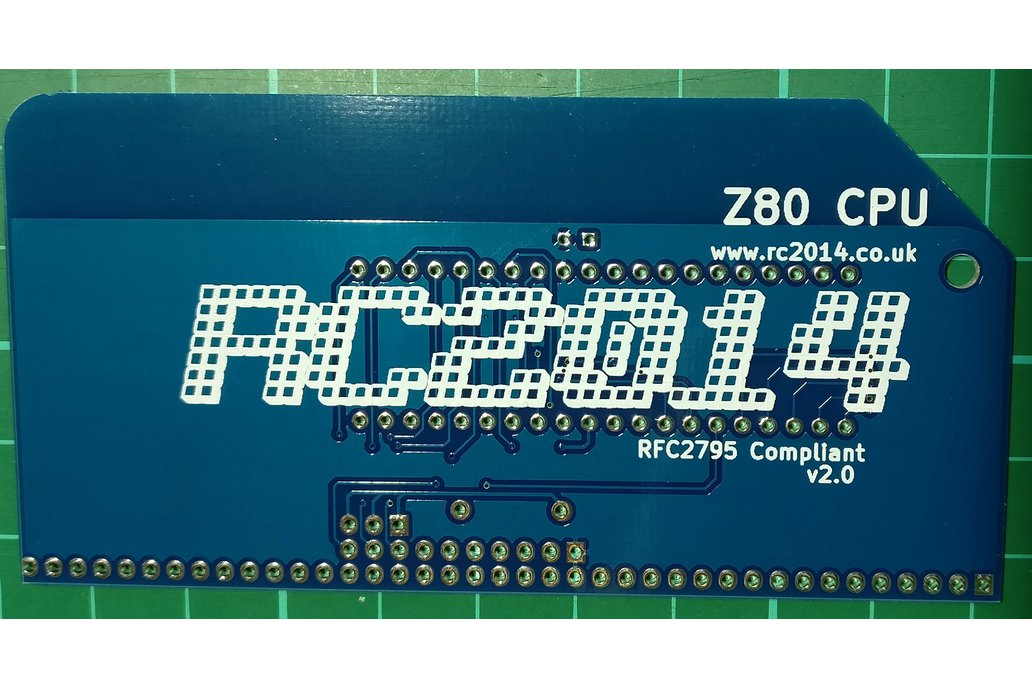 Z80 CPU Module v2.0 for RC2014 homebrew computer 2