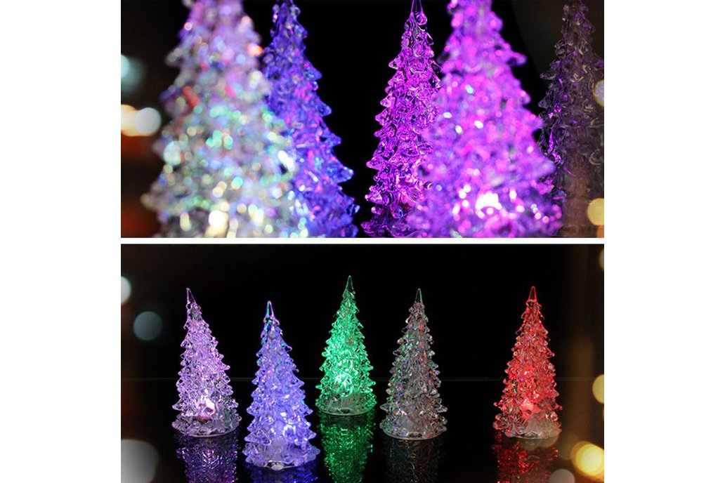 5pcs Colorful Changing Christmas Tree 2