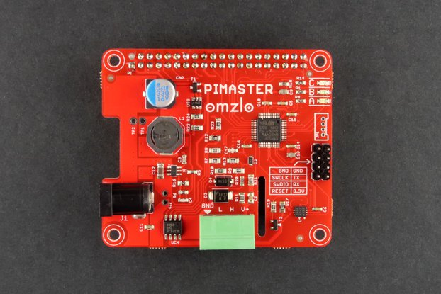 PiMaster HAT for the Raspberry Pi.