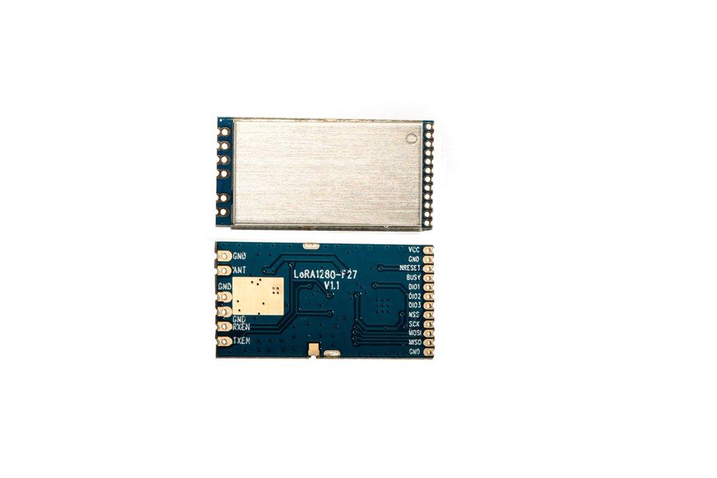 2PCS LORA1281F27 500mW 2.4G LoRa RF module 1