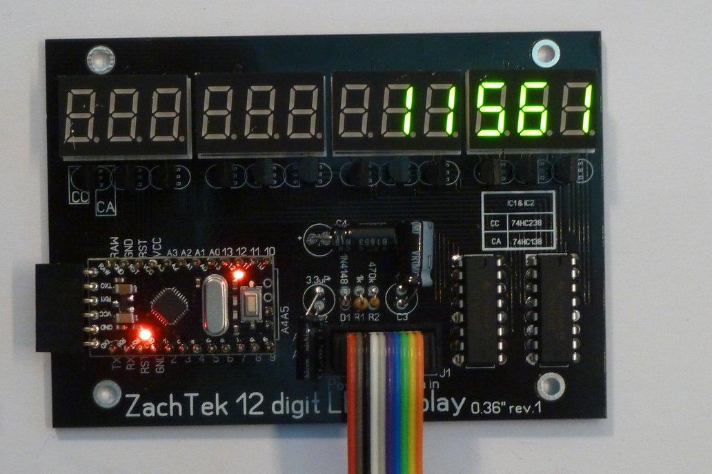 12 Digit LED Display 3