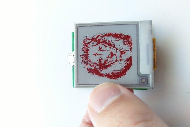 Arduino Micro compatible E-paper E-ink board