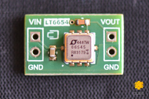 LT6654 Precision Low Noise Voltage Reference