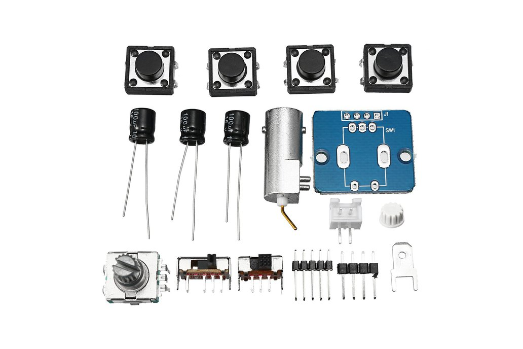 Digital Electronic Oscilloscope Set With Housing C 1