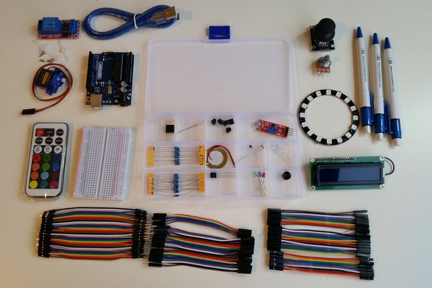 Arduino Starterkit - by Circuitsmaster