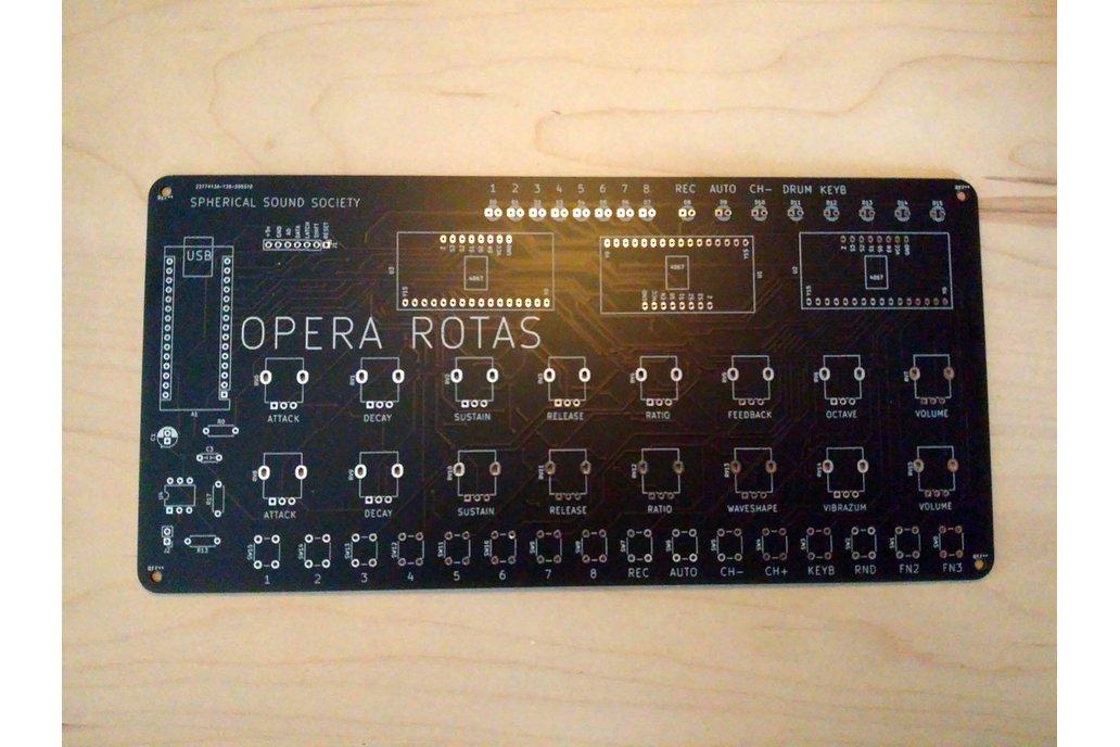 OPERA ROTAS, Mutant FM Drum Machine 1