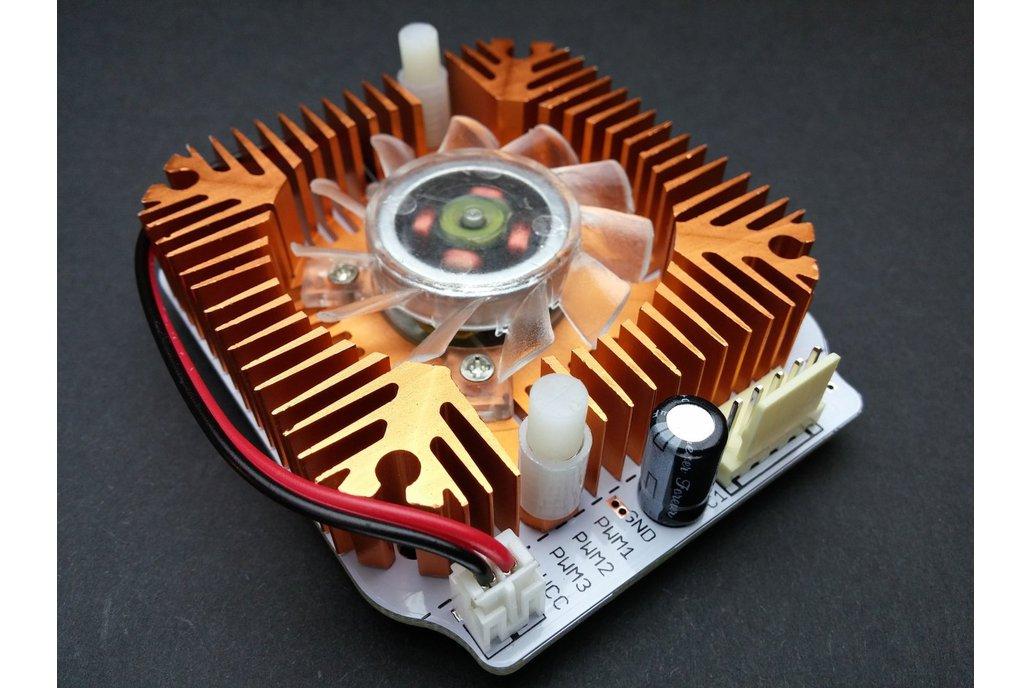 10W High Power RGB LED Module With Heatsink & Fan 3
