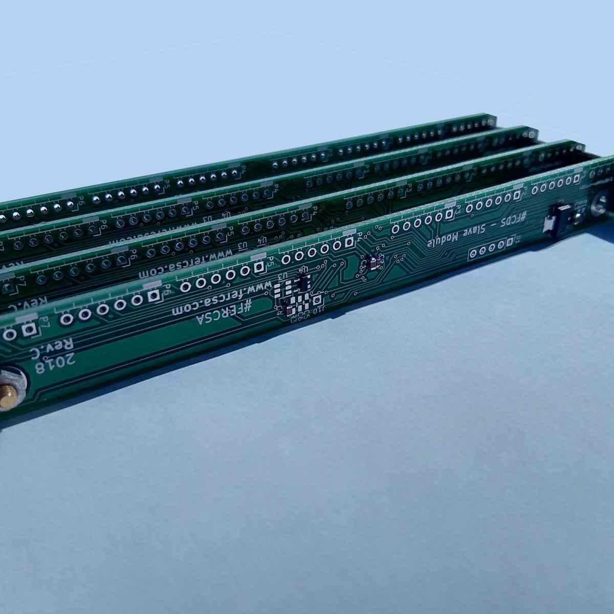 128 Channel ADC w/I2C for Arduino & Raspberry Pi from FERCSA