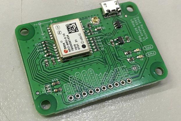 GPS Dead Reckoning Board - NEO-M8U - Compact