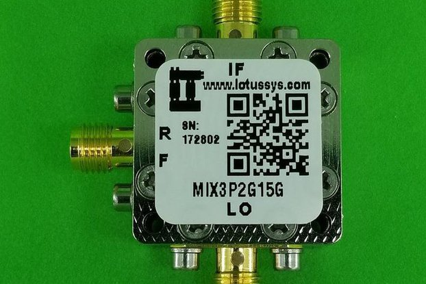 Frequency Mixer 3.2G - 15GHz RF (Passive)