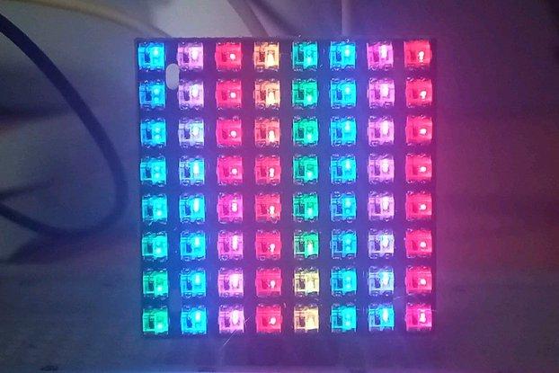 WS2812-2020 8x8 Matrix 25*25mm