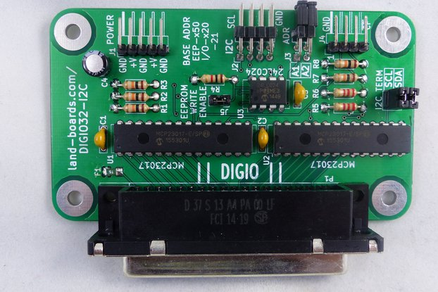 32-Bit Digital I/O Card (DIGIO32-I2C)