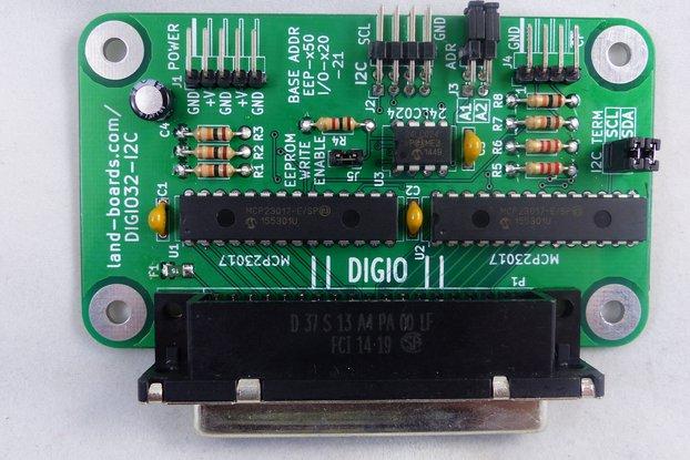 32-Bit Digital I/O Card (DIGIO32-I2C)