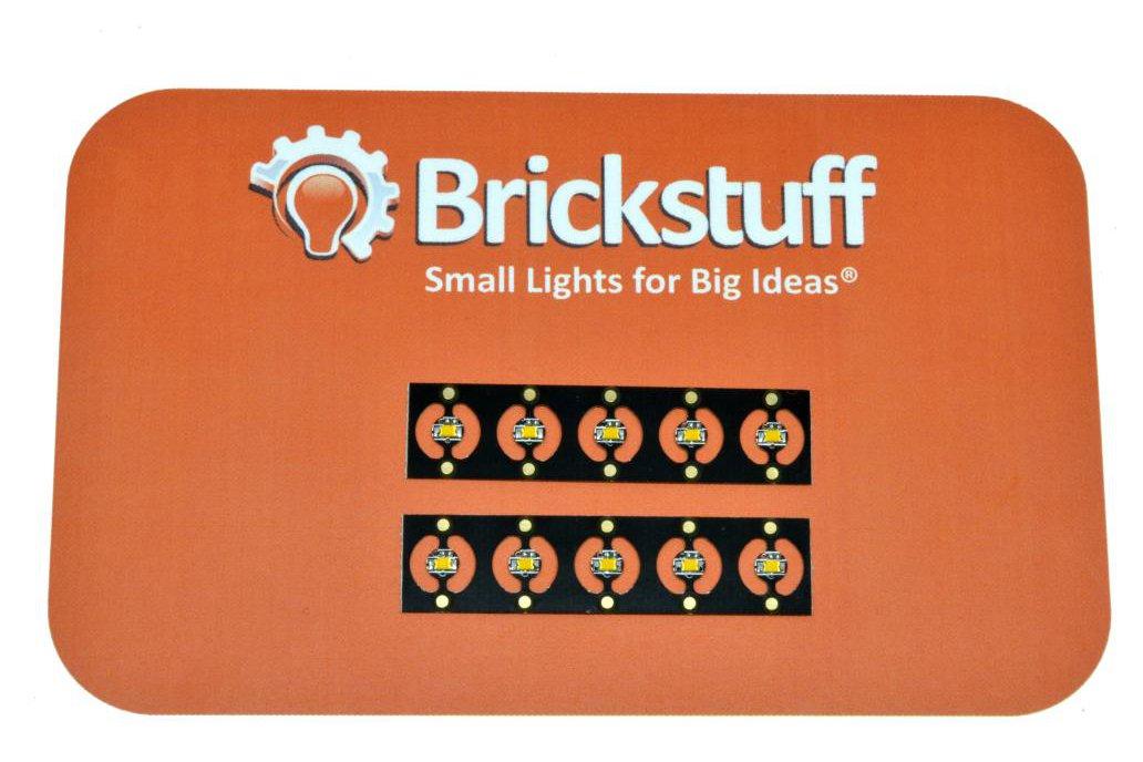 10 Warm White 4mm Pico LEDs on Panel 2