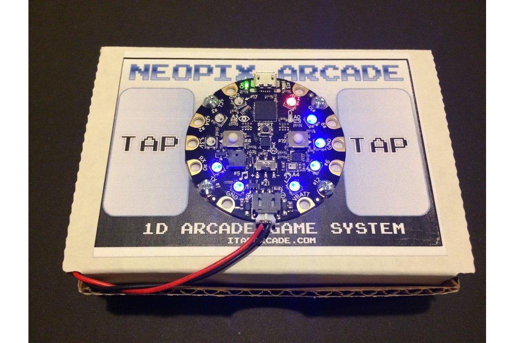 NeoPix Arcade Kit - 1D Arcade Game System 1