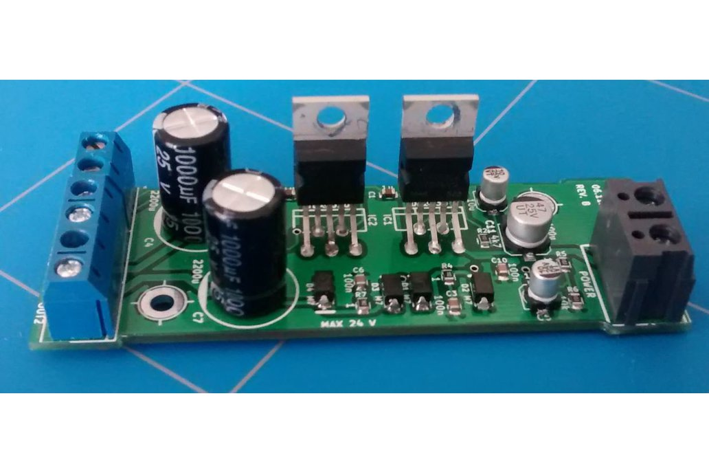 2 x 20 Watt Audio Amplifier 1