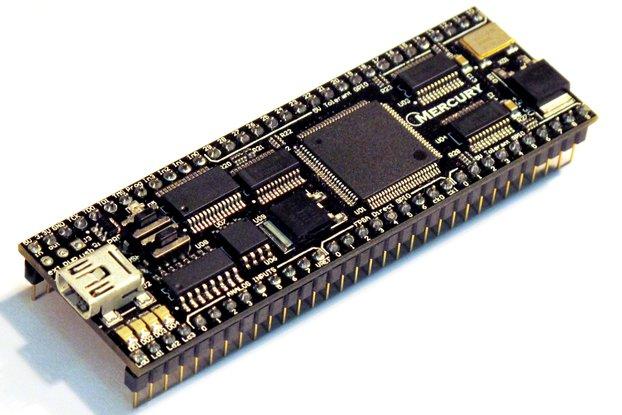 Mercury DIP FPGA board