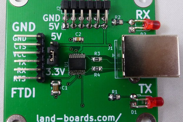 FTDI Card with Extra Features