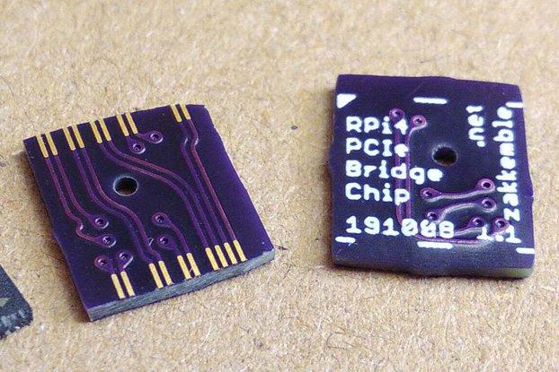 "Raspberry Pi 4 PCI-Express Bridge ""Chip"""