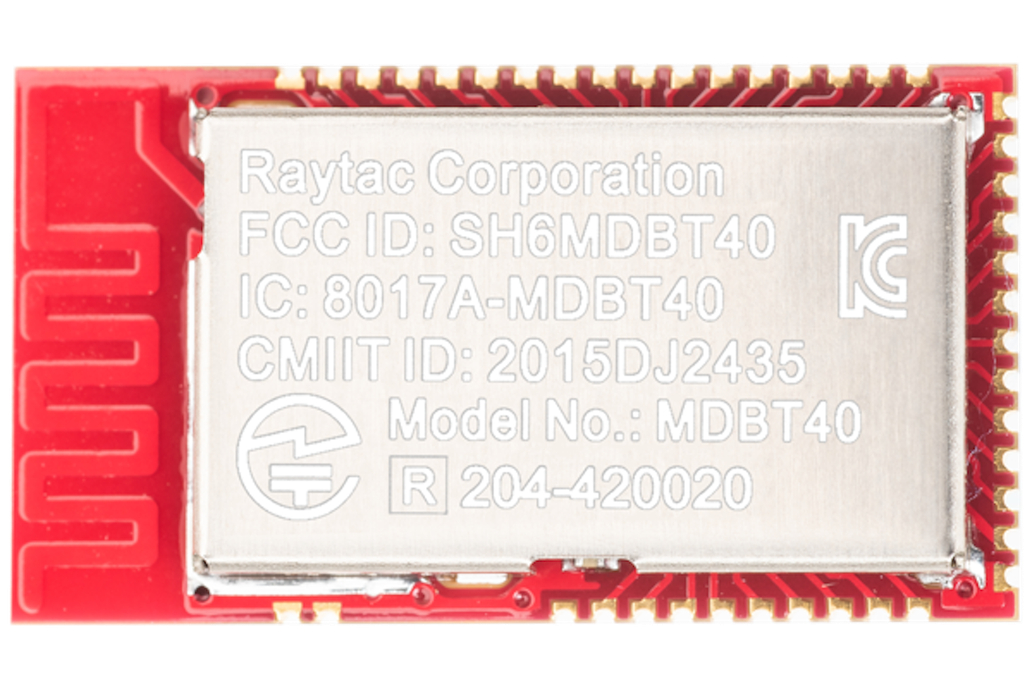 nRF51822 Module MDBT40-P PCB Antenna