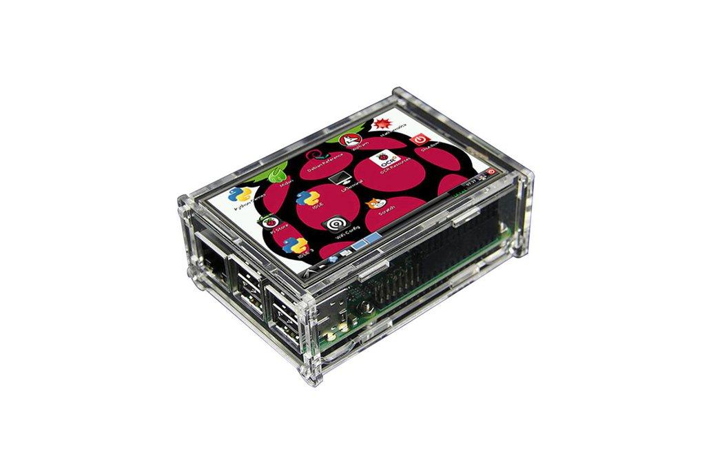 "Raspberry Pi 3 Model B + 3.5"" Display Kit 6"
