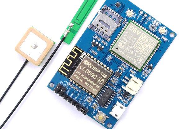 ESP8266 ESP-12S A9G GSM GPRS+GPS IOT Node
