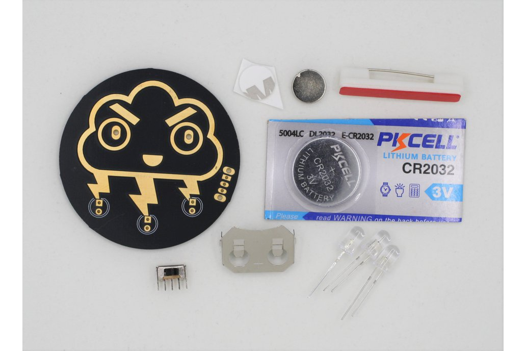 Angry Storm Cloud Soldering Kit 1