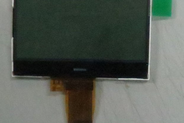 128x64 matrix display module