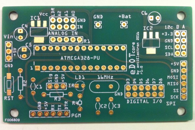 eDOTcore R. 1.0 - PCB only