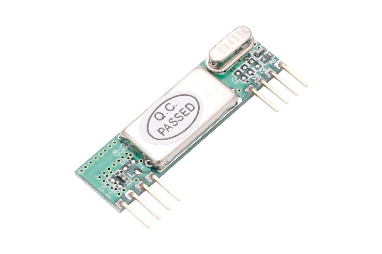 433Mhz Superheterodyne Wireless Receiver(7528)