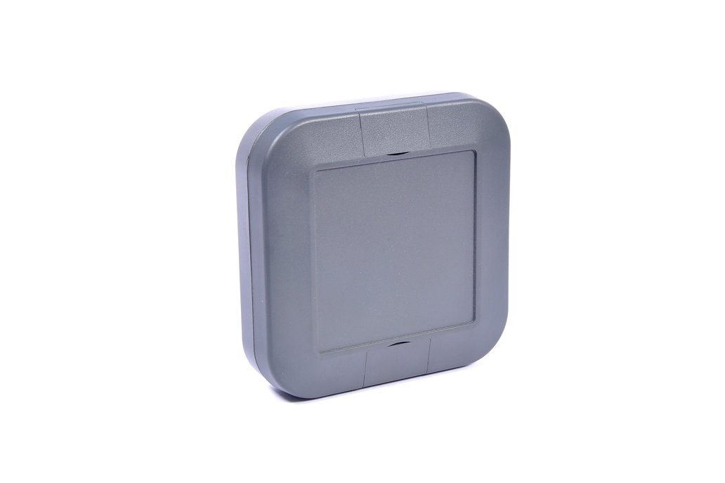 Plastic Enclosure - Charcoal Grey 1