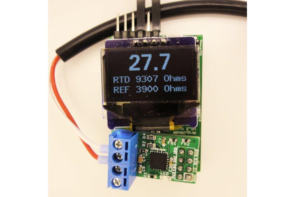 MAX31865 RTD temperature sensor breakout board 5