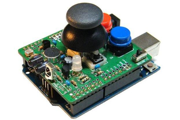 IR r3m0c0n Arduino Shield 2v14J
