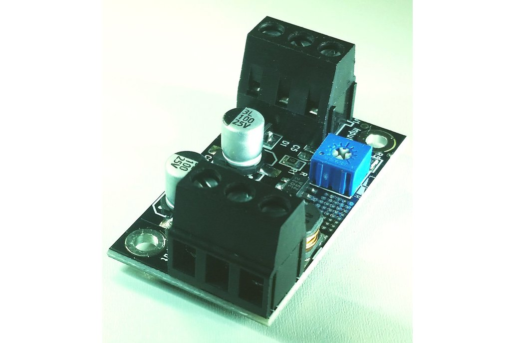Switching Regulator Adapter, 4V ~24V to 2.5V~18V 5