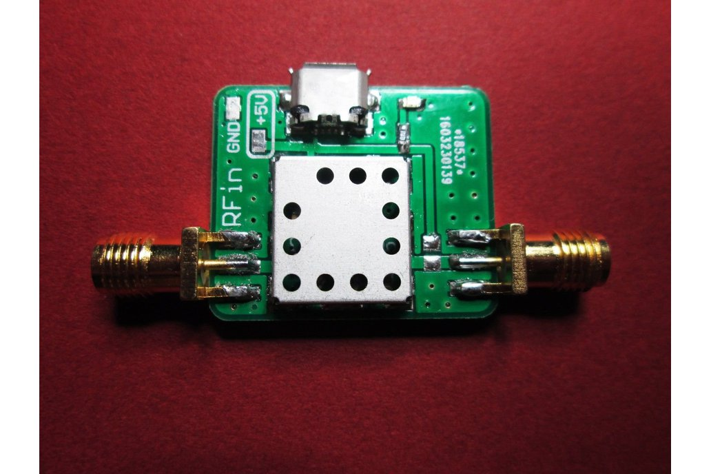 Low Noise Amplifier 100 kHz to 2000 MHz Gain 30dB 1