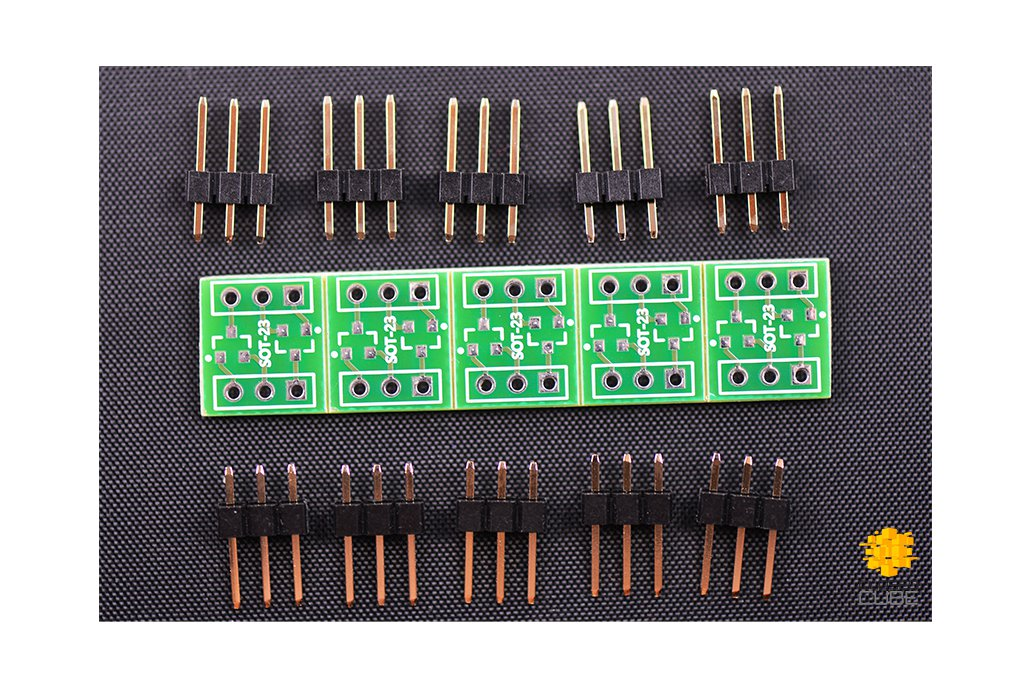 ClosedCube SMD 2xSOT23-3/SOT23-6 Double-Sided PCBs 1