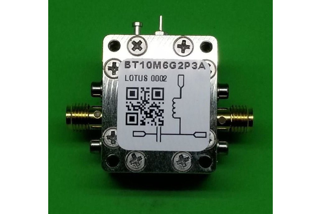 Bias Tee Broadband 10 MHz to 6 GHz Max. 2.3A 50V 1