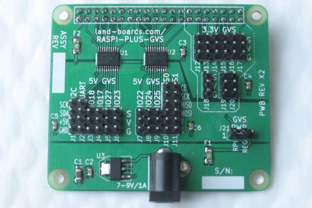 3.3V/5V Sensor Conn Card for Raspberry Pi A+/B+