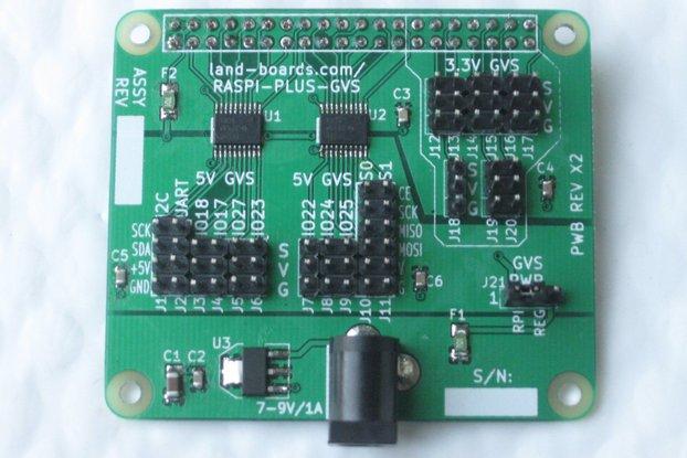 3.3V/5V Sensor Conn Card for Raspberry Pi A+/B+