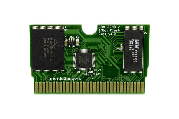GBA 32MB, 1Mbit Flash Save, Flash Cart