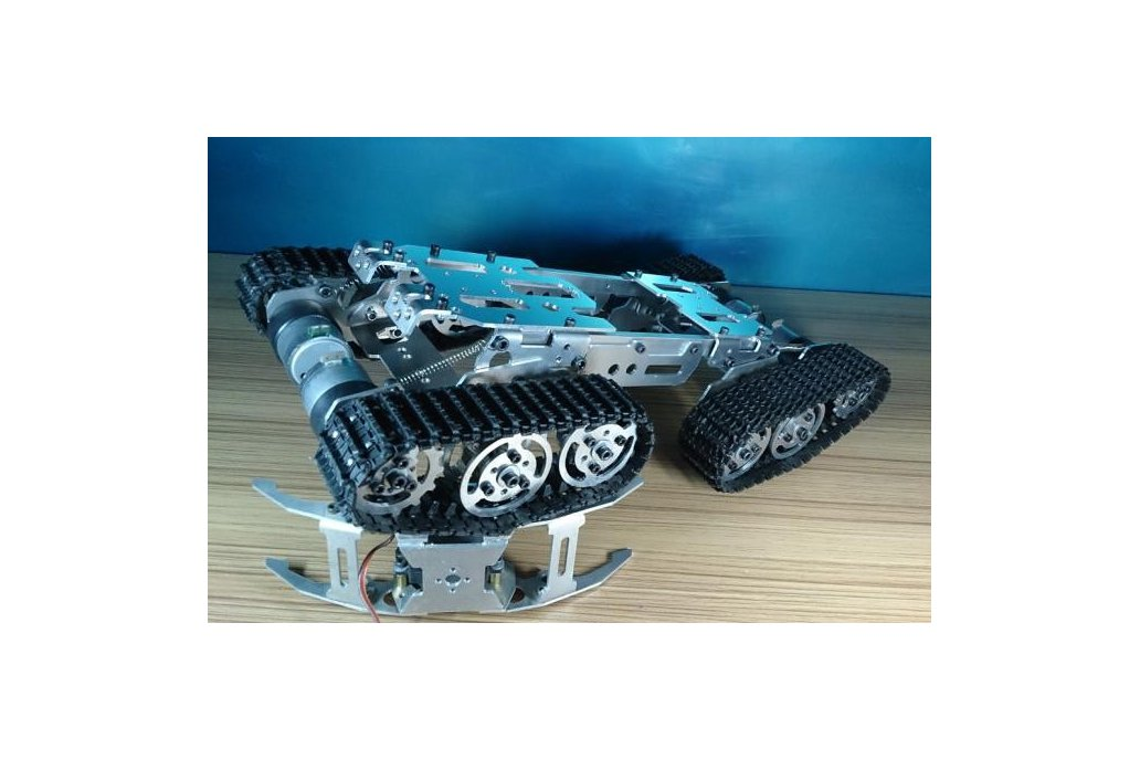Obstacle Avoidance barrowland  Tank Chassis 2