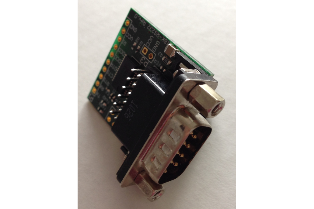 UART to RS-232 breakout up to 3 ports 1