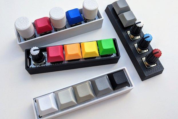 miniMACRO5 - custom programmable keypad