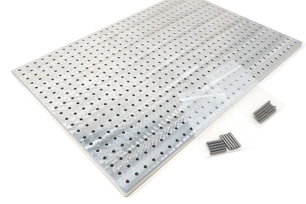 Stencil8 PCB Solder Stencil Fixture Plate