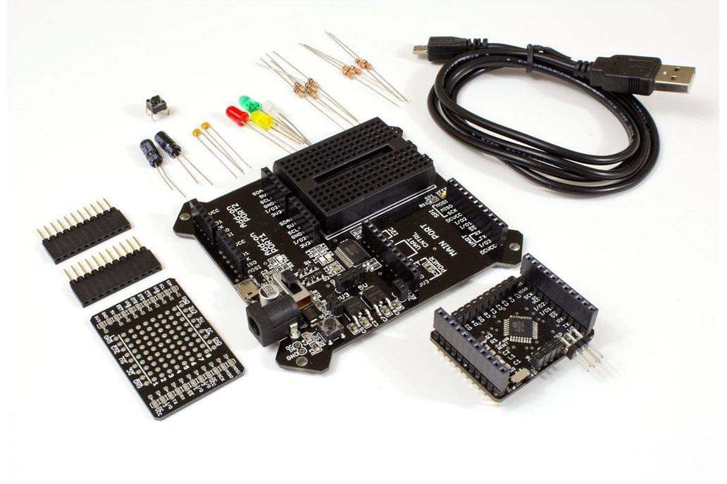 BoardX Arduino Compatible Starter Kit (ATMega328P) 1